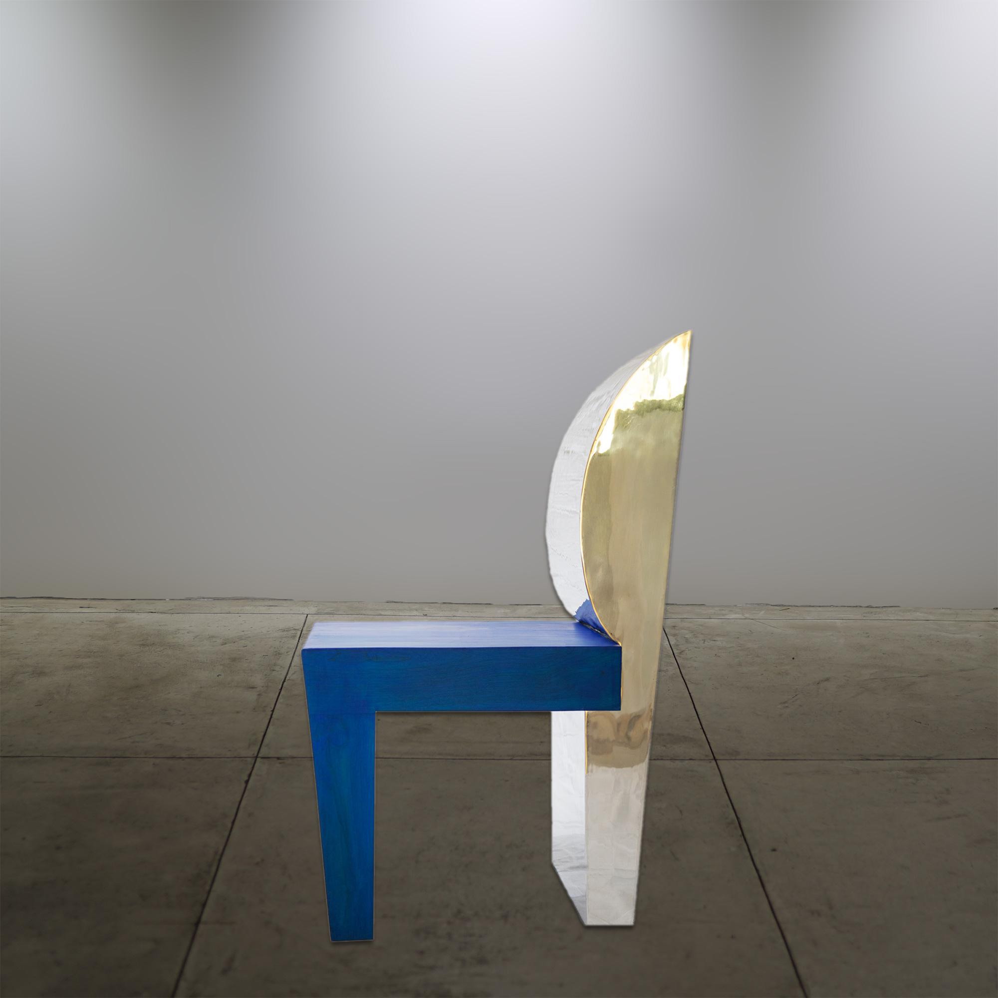 Aluminum Chair Blue - © Flavio Bisciotti