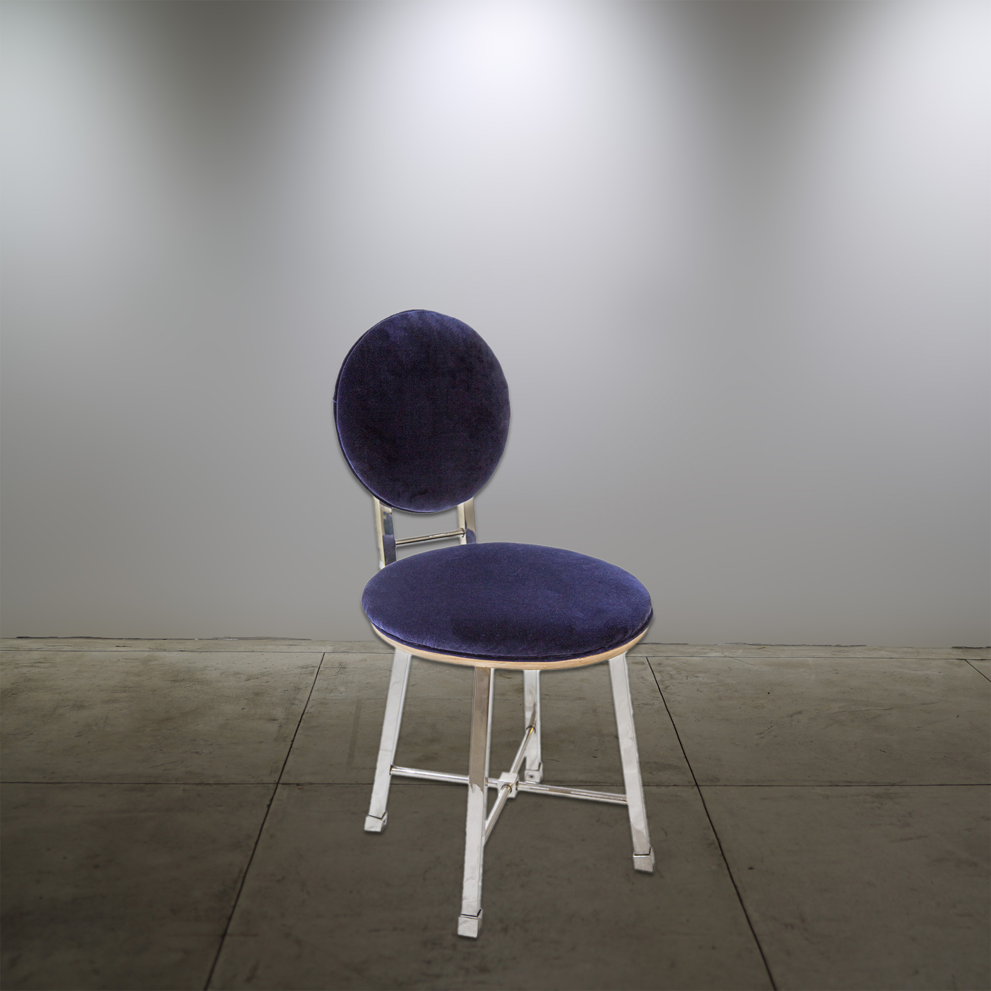 Aluminum Chair Purple - © Flavio Bisciotti