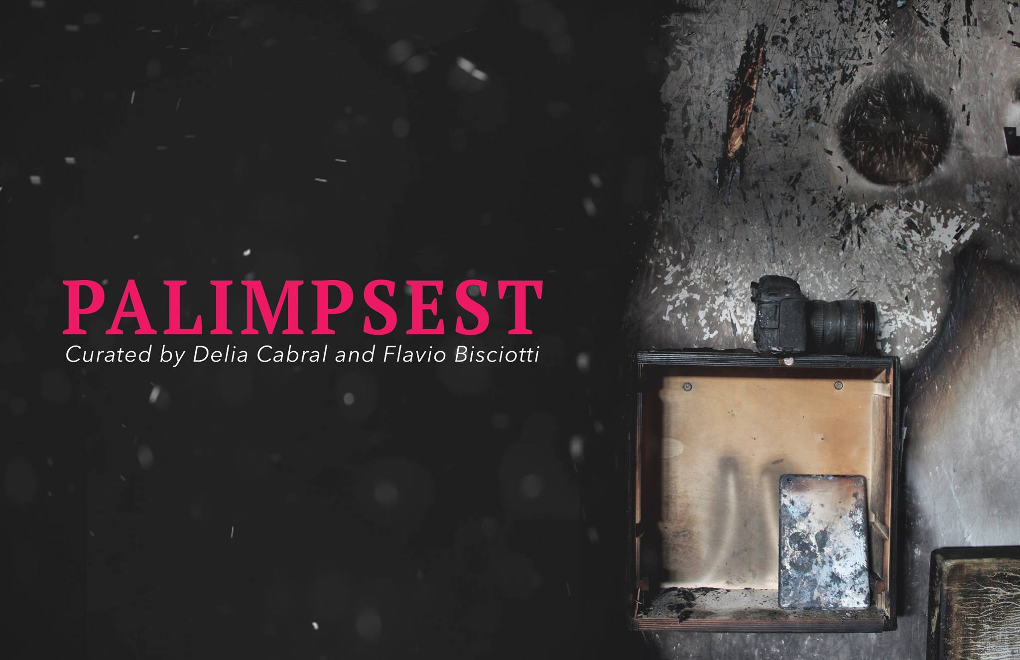 'Palimpsest' Group show - Venice, CA - October 2016
