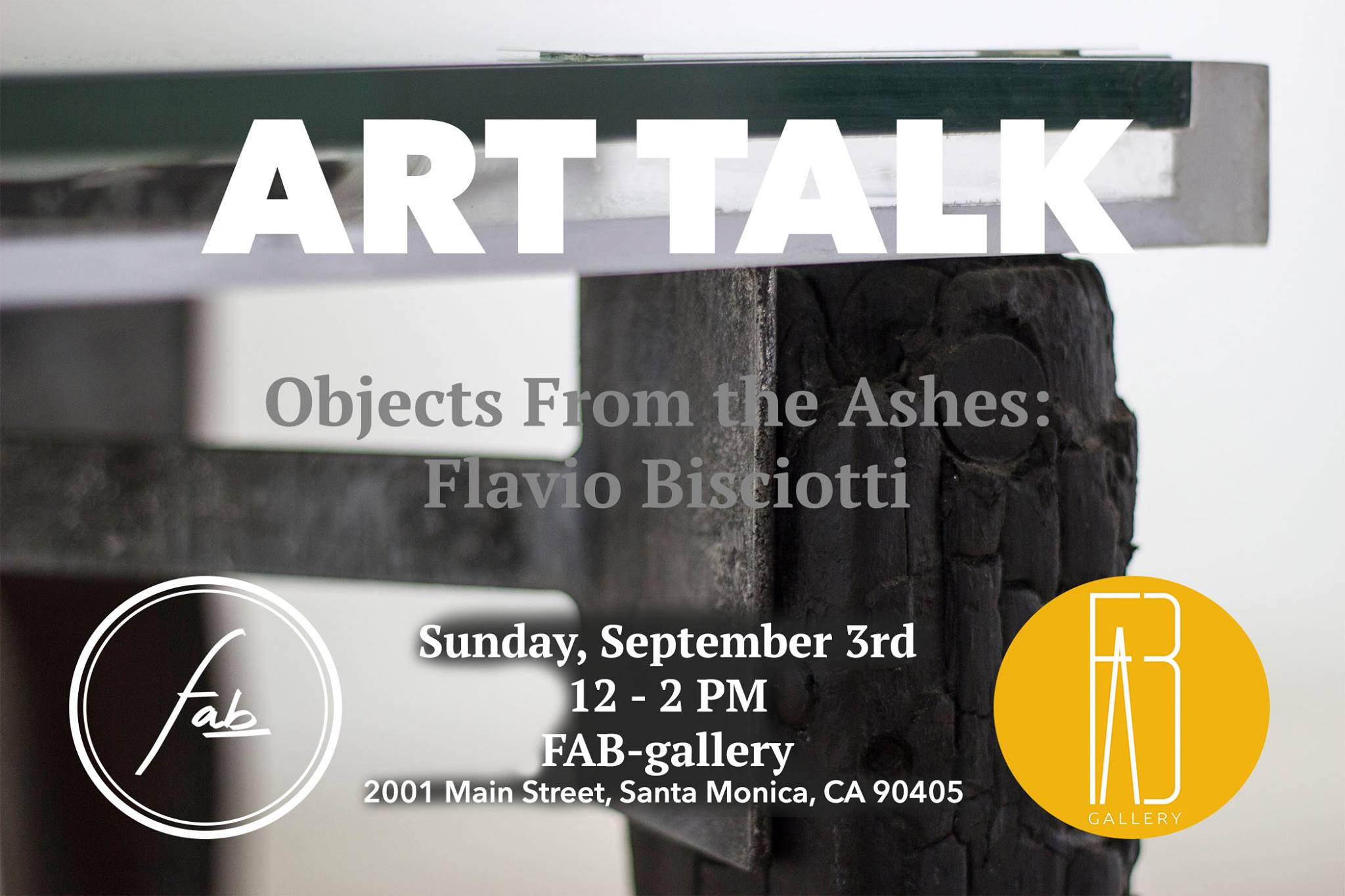 'Objects from the Ashes' - FAB Gallery, Santa Monica, CA - June 2017