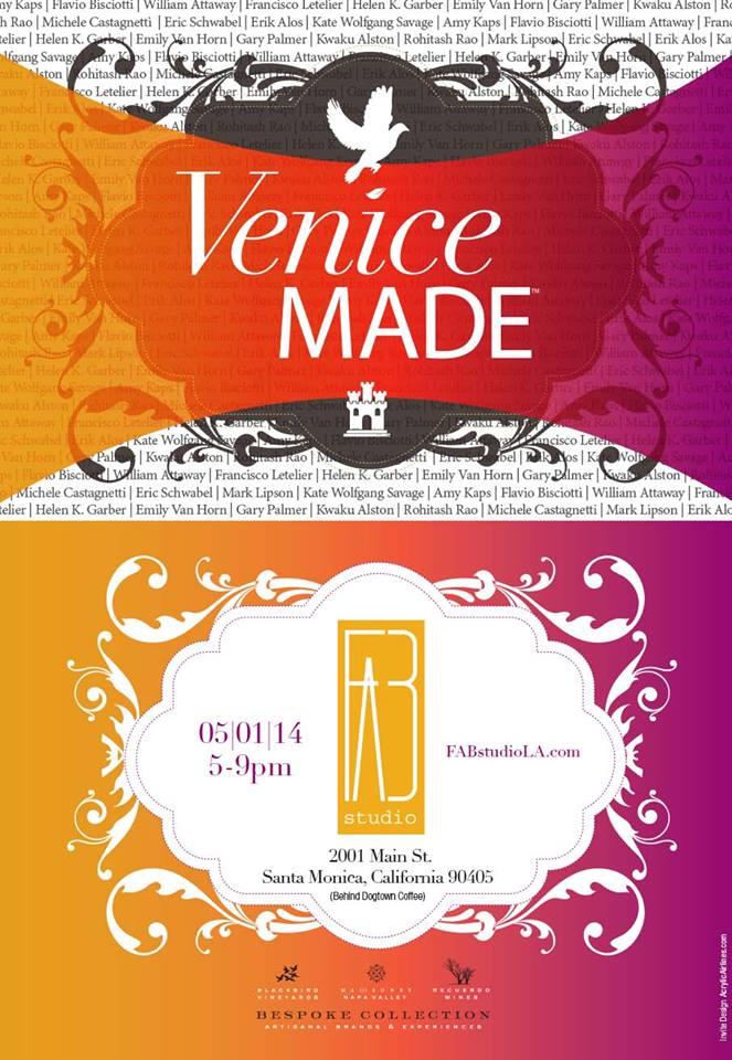'VENICE MADE' - FAB Gallery, Santa Monica, CA - May 2014